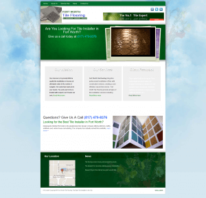 Tile Company Website