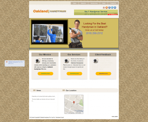 Handyman Web Creation