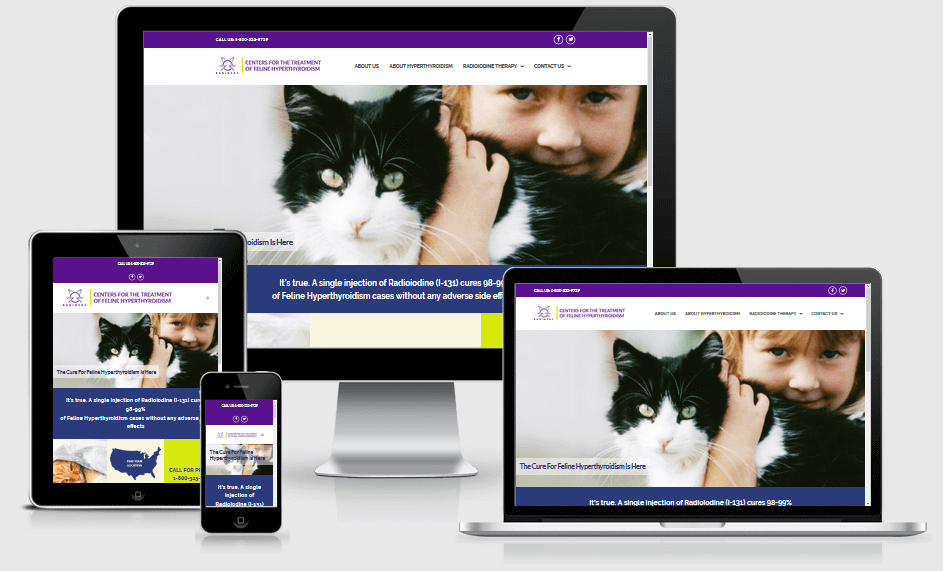 veterinarian responsive website